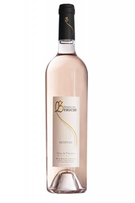Rosé 2017 en 75 cl Cuvée Exception