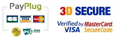Payplug logo cb 3 d secure logo 2