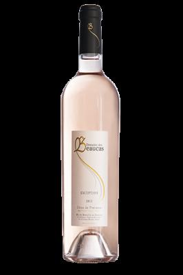 Rosé 2016 en 75 cl Cuvée Exception