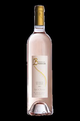 Rosé 2016 en 75 cl Cuvée Les Hauts du Golfe
