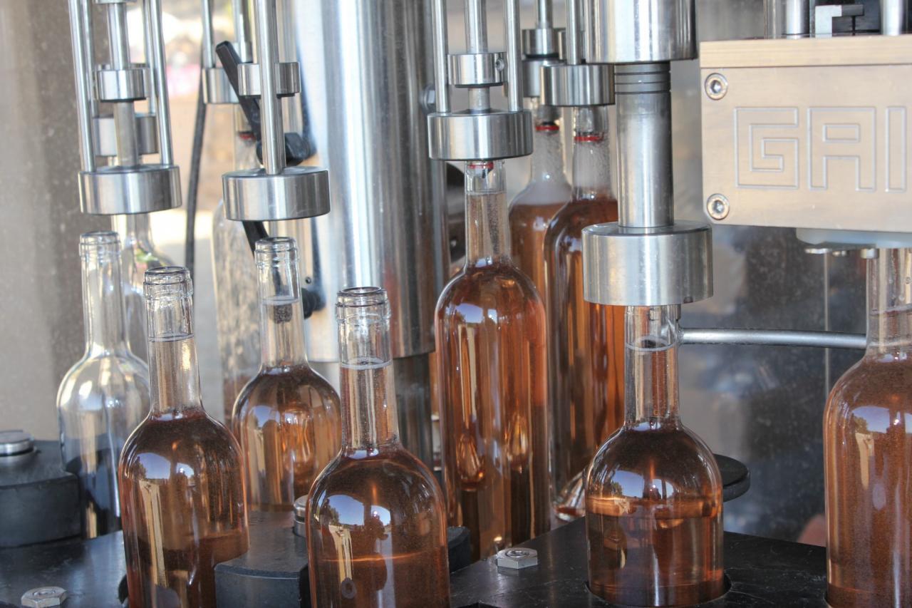 La Mise en bouteilles au Beaucas